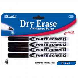 Dry Erase Fine Black by Wholesale School Supply