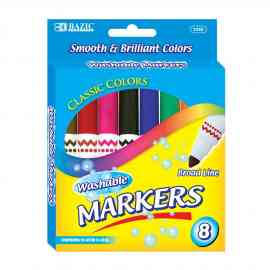 Bazic Washable Marker by Wholesale School Supply