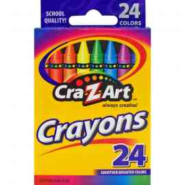 CraZArt 24ct Crayon Pack